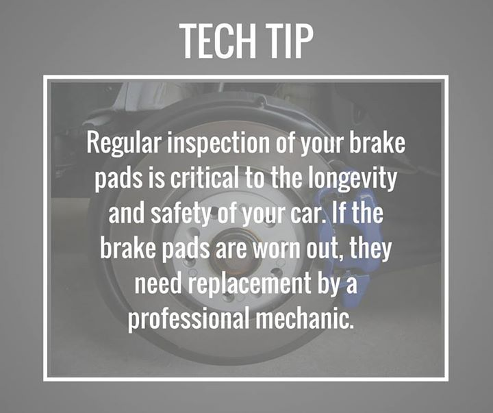 Have You Had Your Brake Pads Checked Lately Tiptuesday Car