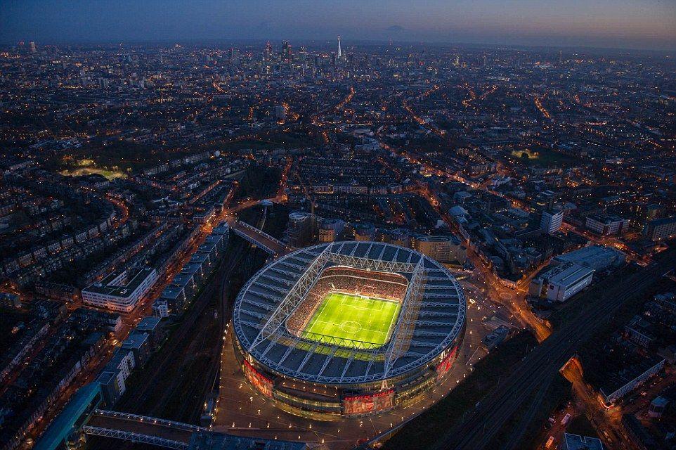 Best London Football Grounds From Above Vista Shots Of Capital S Stadiums London Football Arsenal 640 x 480