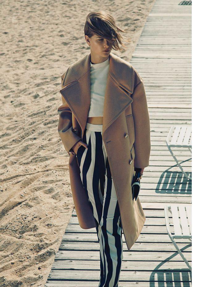 bo don bazaar7 Bo Don Models Stella McCartney for Hans Neumann in Harpers Bazaar Latin America