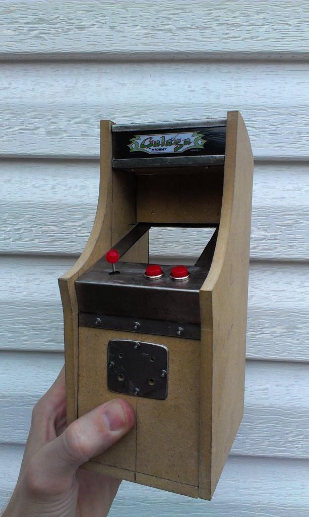 Smallest Mini Galaga   Video Game Fun   Mini arcade, Arcade