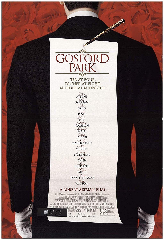 Gosford Park 2001 Robert Altman Scott Thomas Movies 2019