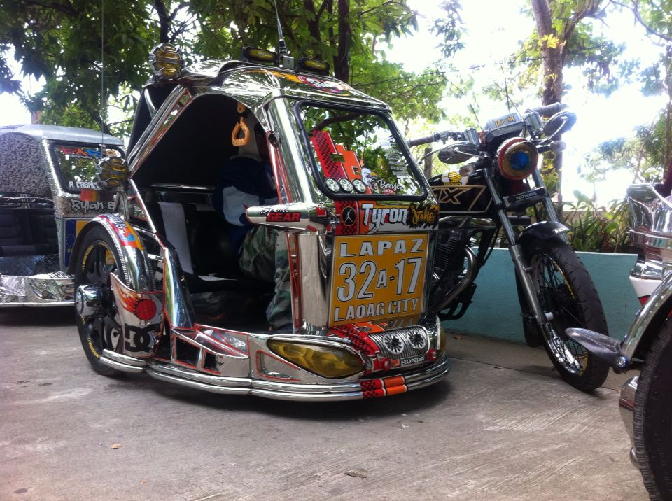 Tricycle Of Laoag City Philippines Tricycle