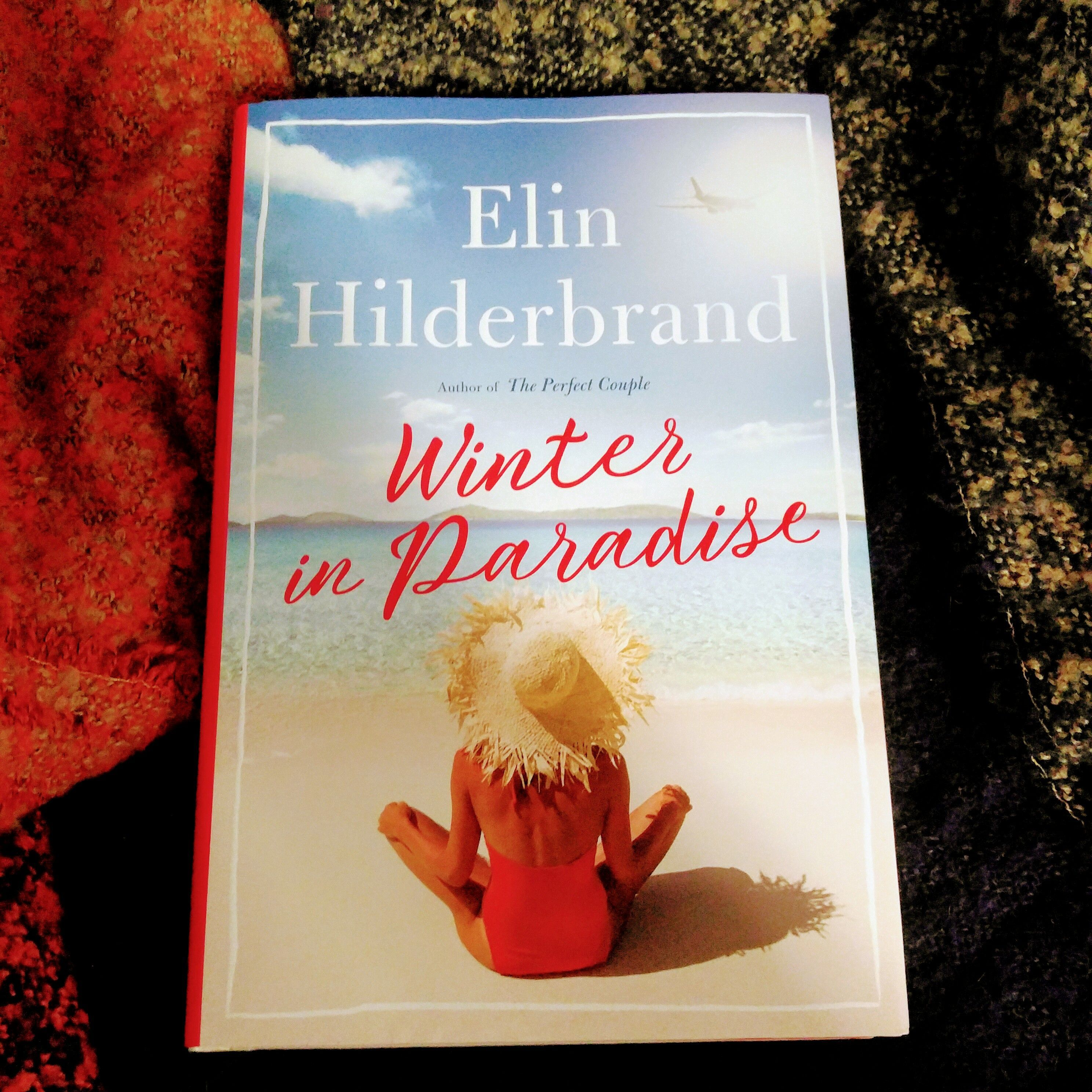 It's the newest book from Elin Hilderbrand and it's OMG