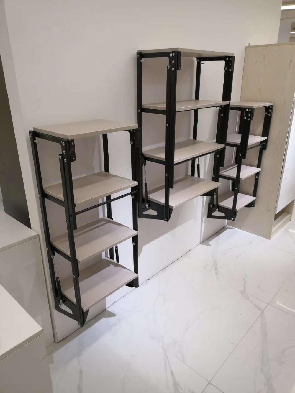 Space Saving Furniture Desk Mechanism Wall Mounted Book