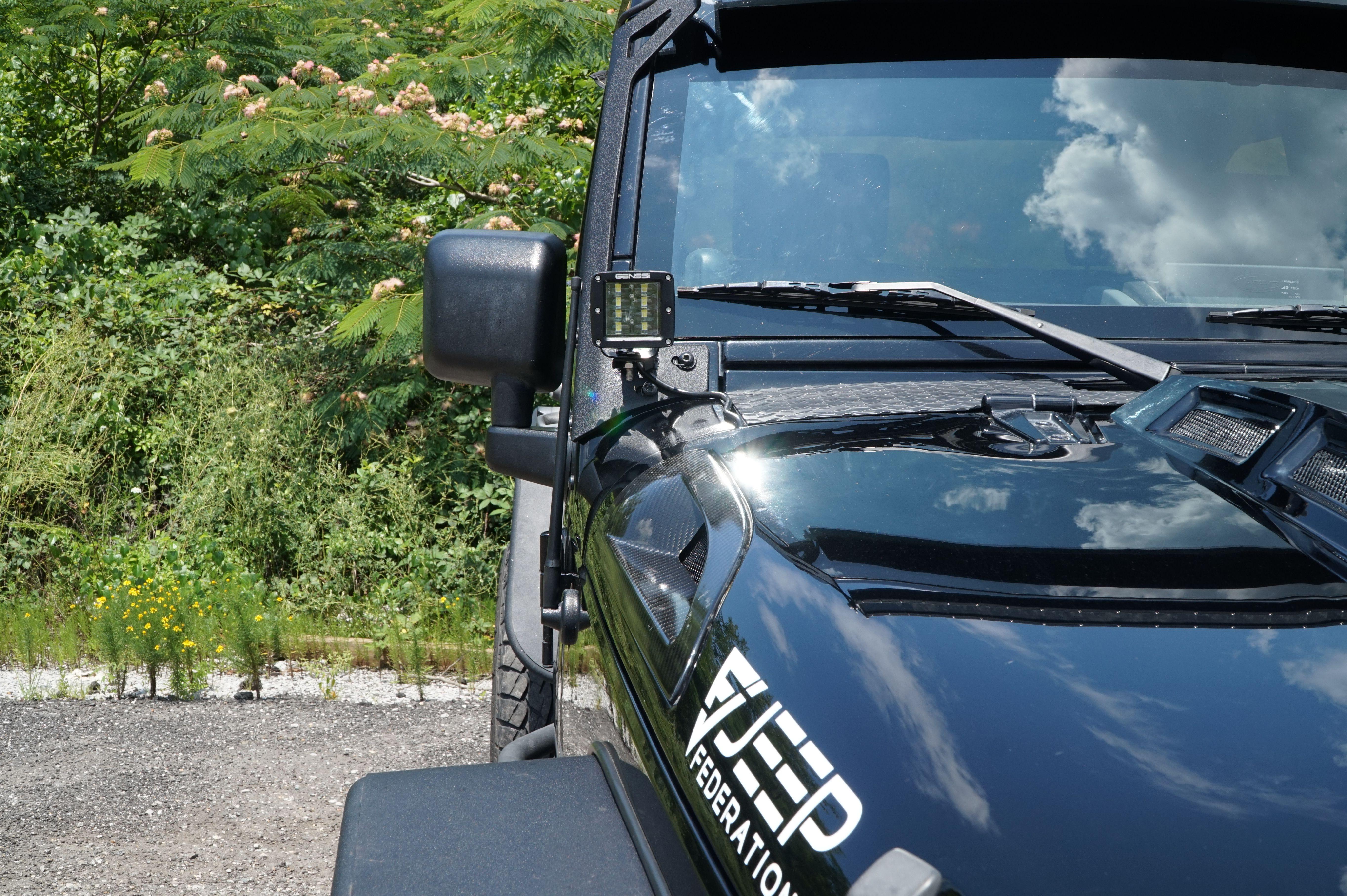 jeep federation led light bar set for jeep wrangler jk jeeplightbar jeepwranglerlight bar the best kit for your jk and jku lightbar [ 5456 x 3632 Pixel ]
