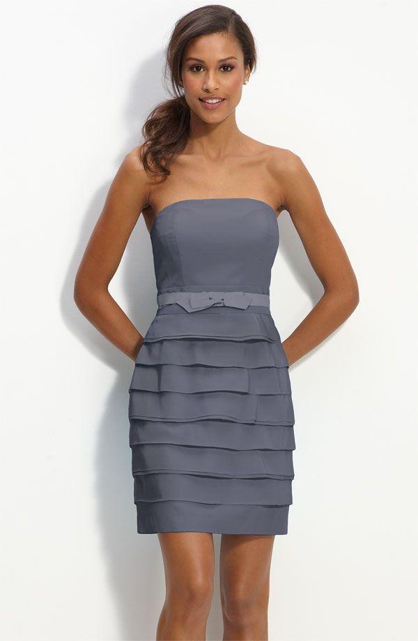Grey Short Prom Dresses - Ocodea.com