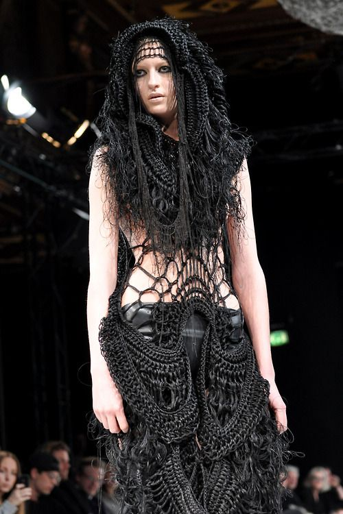 Barbara i Gongini A/W '13 I'd love to be this dark goddess princess at a festival of some sort