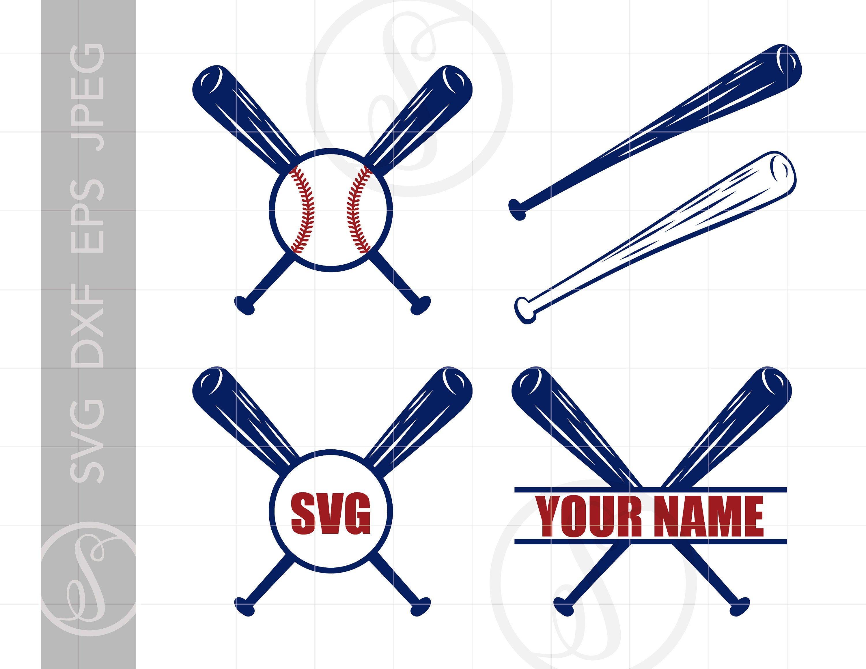 Baseball Monogram Svg Baseball Bat Clipart Download Etsy Baseball Monogram Baseball Svg Monogram Svg