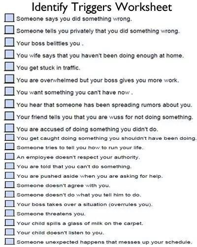 Triggers | Education | Pinterest | Therapy, Counselling ...