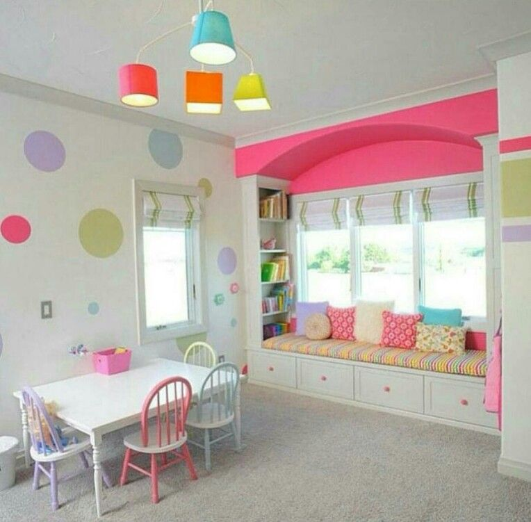 astounding picture kids playroom furniture. Fun And Creative Kids Playroom Ideas: Wall Decor For With Interior Paint Color Roman Shades Also Spindle Chairs Astounding Picture Furniture