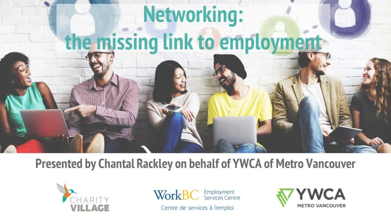 networking the missing link to employment