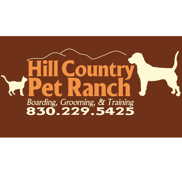Hill Country Pet Ranch - We designed this logo for a pet ranch. We were able to incorporate silhouettes of animals to make the logo more visually interesting and dynamic.