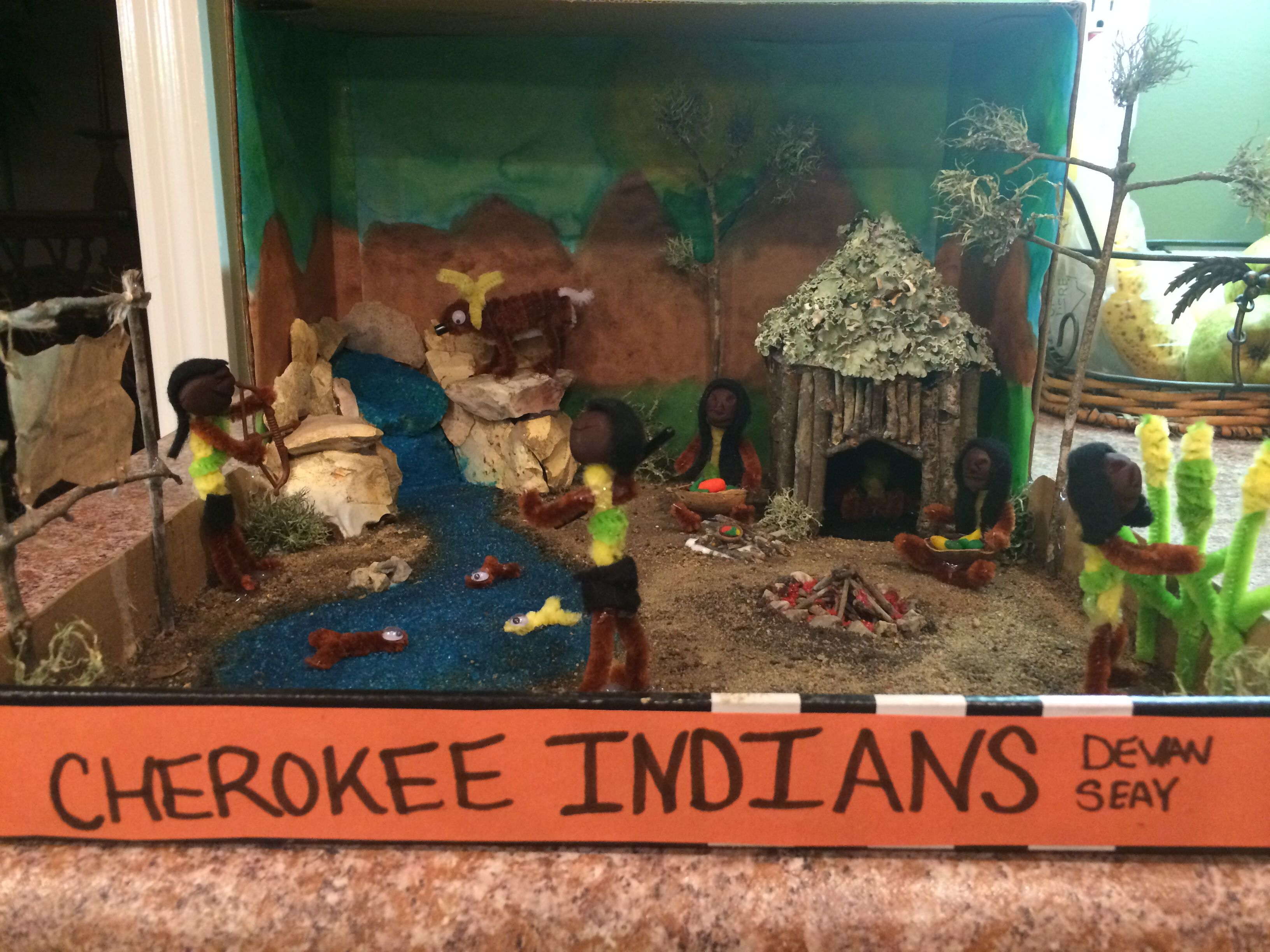 5th Grade Cherokee Indian Project