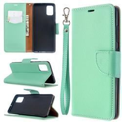 Classic Luxury Litchi Leather Phone Wallet Case for Samsung Galaxy A51