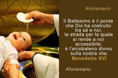 Battesimo Frasi E Citazioni Sul Battezzare Battesimo Bambino