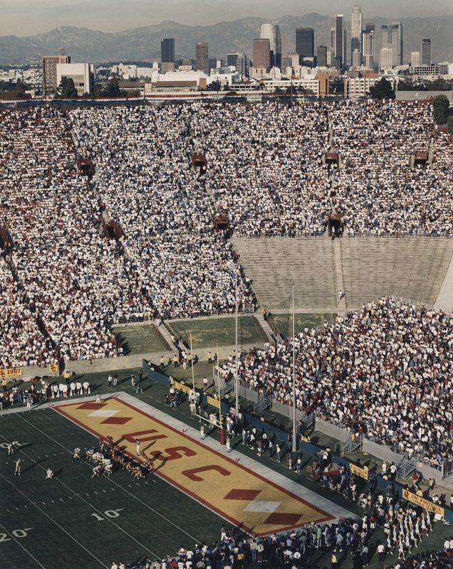 USC vs. UCLA Los Angeles Memorial Coliseum 3911 S Figueroa St, Los Angeles, CA 1993