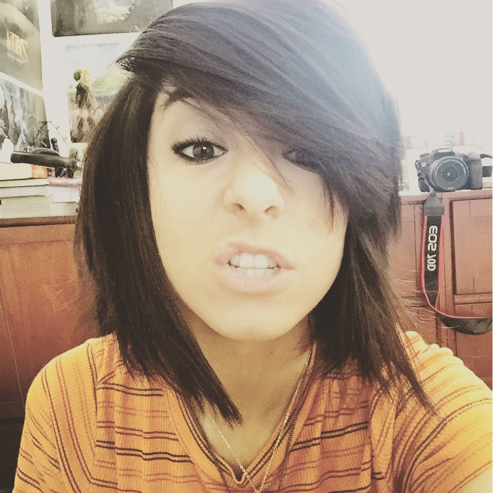 Short hair is fun christina grimme christina grimmie pinterest