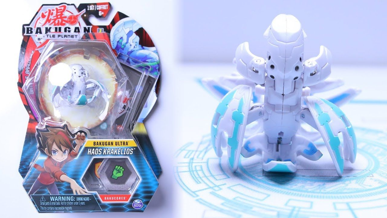 Bakugan Battle Planet Haos Ultra Krakelios Unboxing With Images