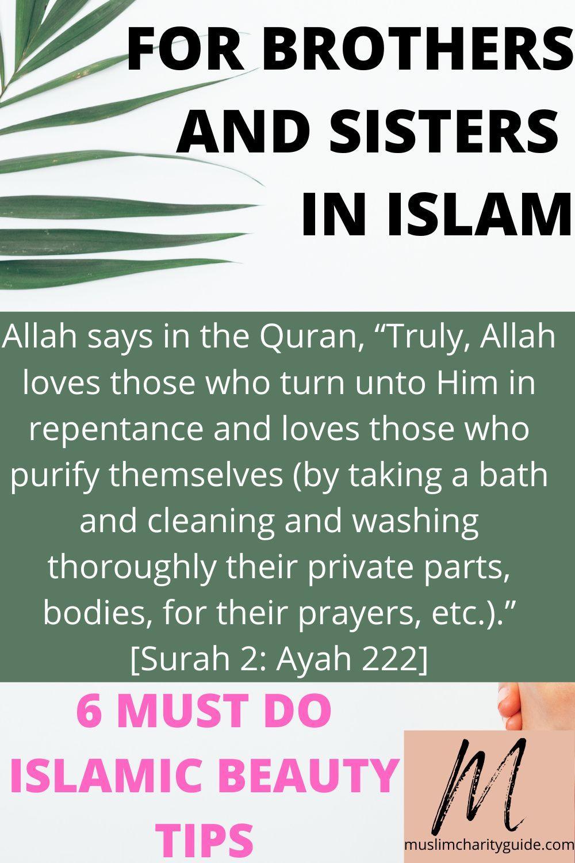 Pin On Islamic Beauty Tips