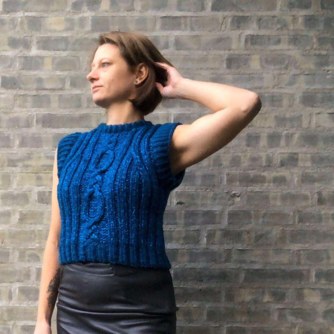 Photo of Glamour vest | Strikkestudio