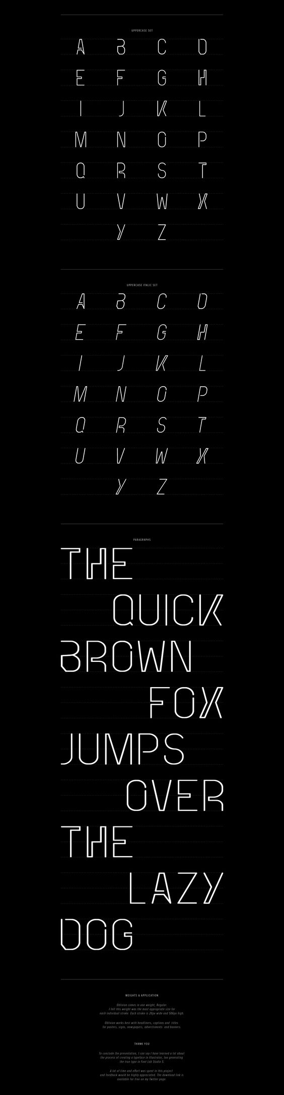 typographies gratuites cv