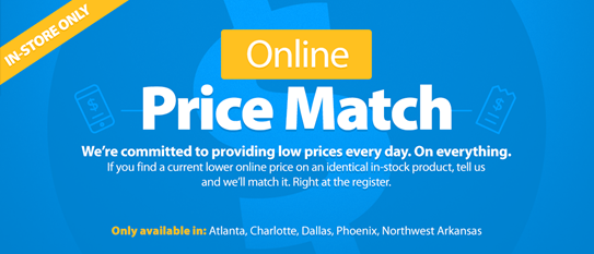 Game Changer Walmart Now Price Matches Online Ads Frugal Tips Money Saving Tips Online Ads