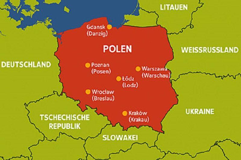 Znalezione Obrazy Dla Zapytania Landkarte Polen Fur Kinder Polen