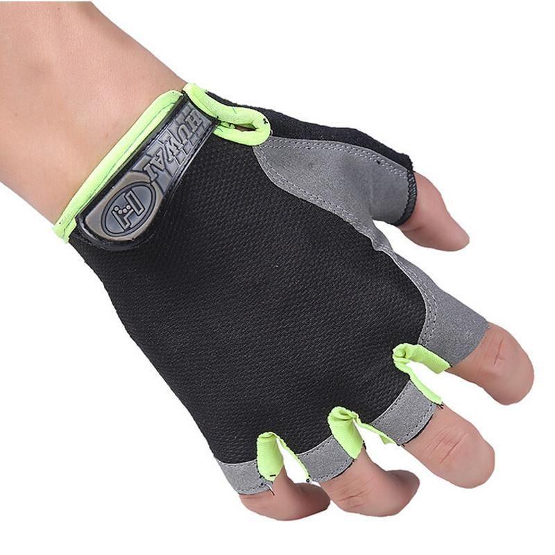 Half Finger Fitness Radfahren Handschuhe Übung Training Gewichtheben Bodybuilding Gym Handschuhe Out...