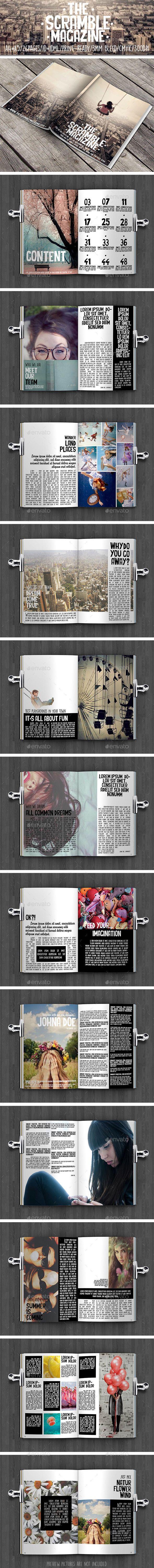 The Scramble Magazine | Diseño editorial y Editorial