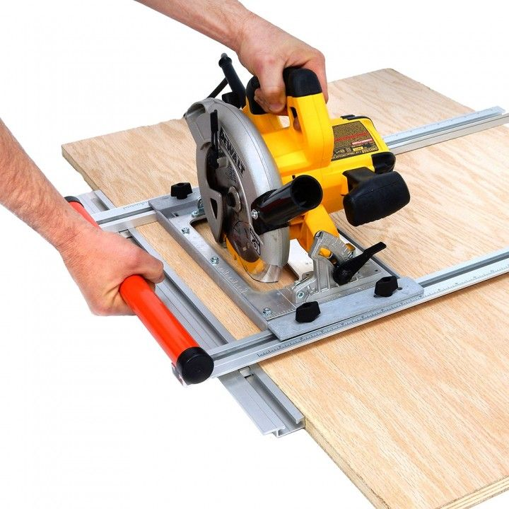 Ezsmart universal edge guide with universal saw base for Woodworking guide
