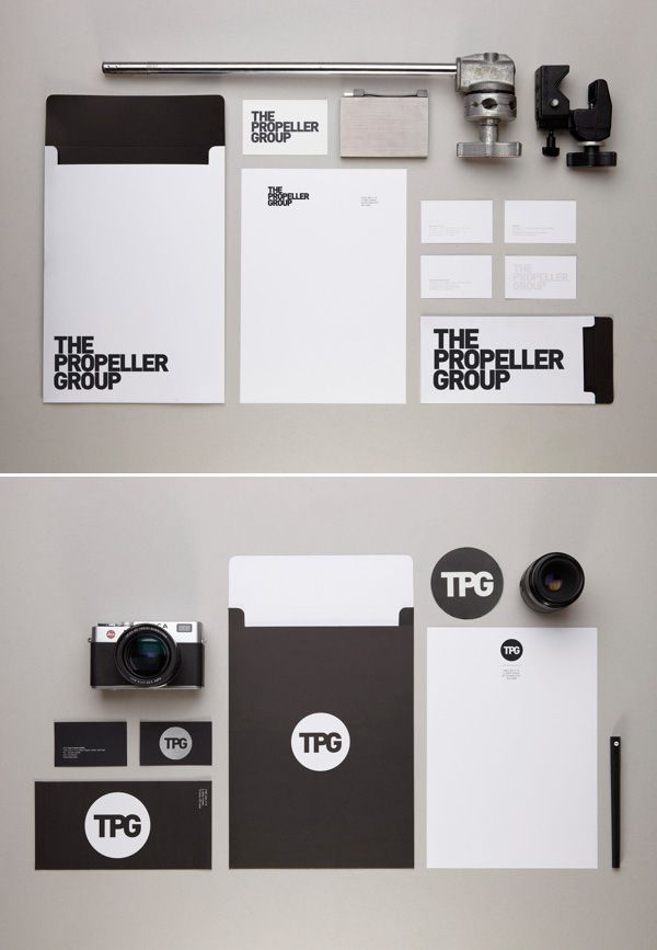 20 Inspiring Stationery Designs. For promotional folders, business ...