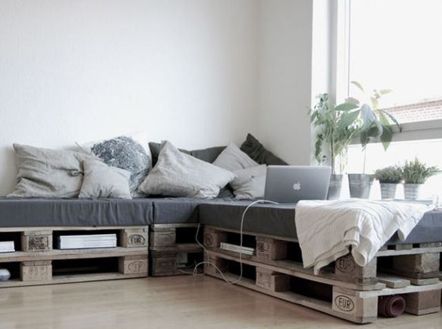 la palette en bois dans tous ses tats bricabrac. Black Bedroom Furniture Sets. Home Design Ideas