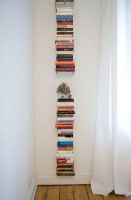 ☑ Unsichtbare Bücherregale