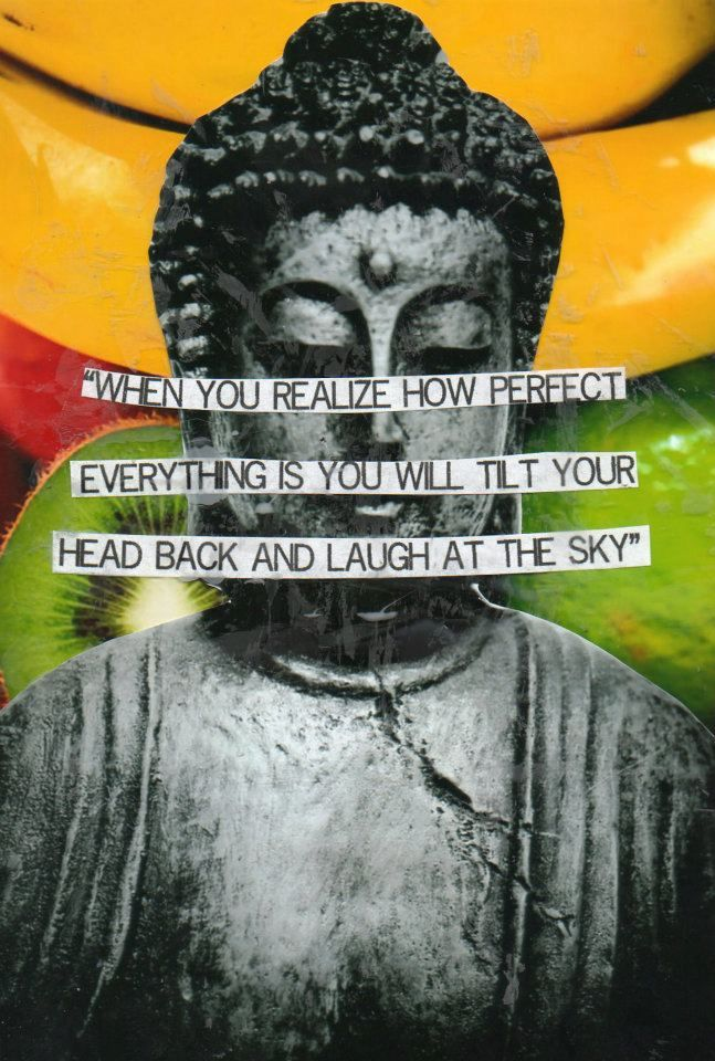 Buddha Quotes Tumblr Pleasing Tilt Back Your Head And Laugh At The Sky  Inspirational Quotes