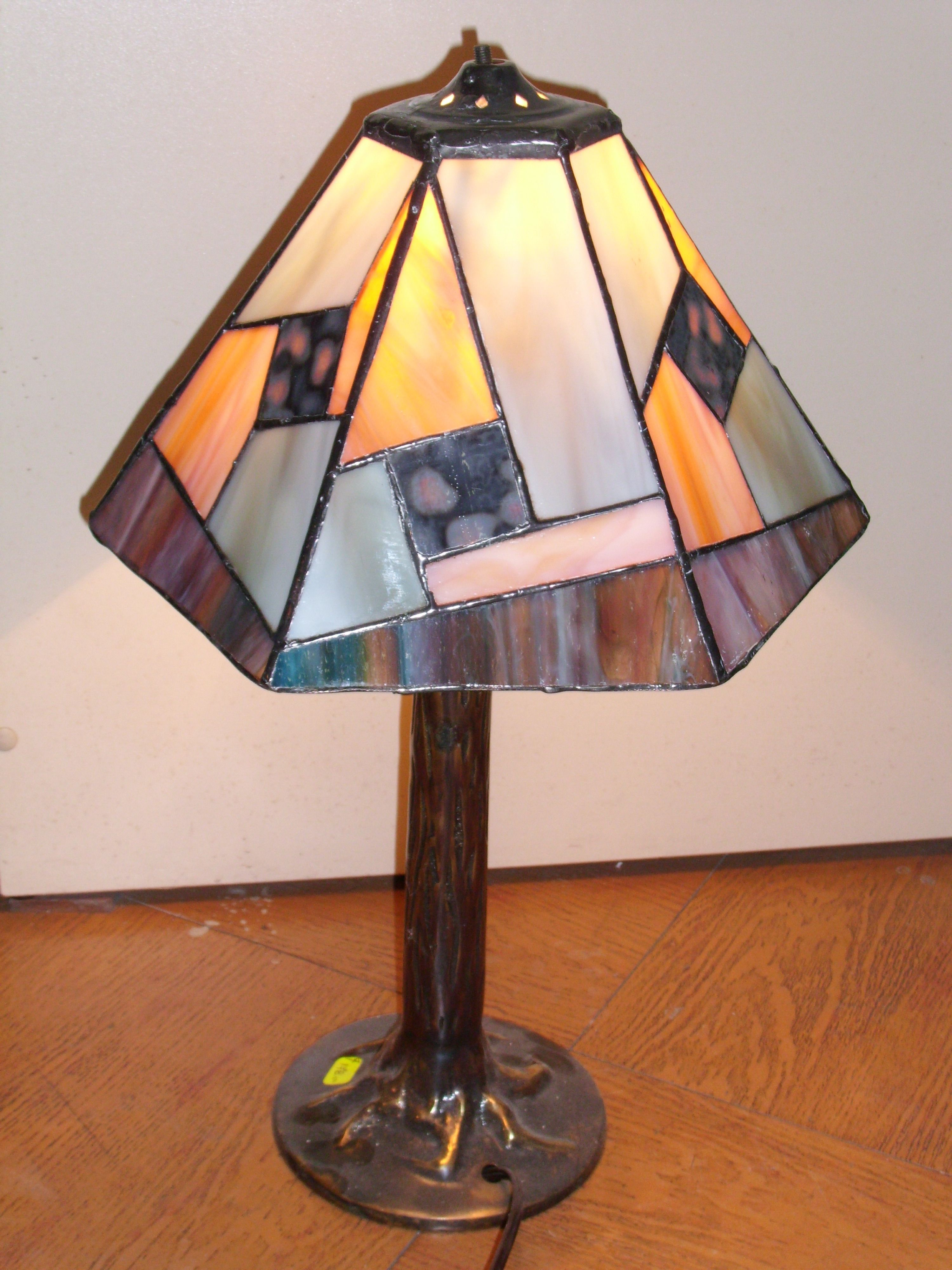 Lampara Vitro Tecnica Tifani Stained Glass Lamp Shades