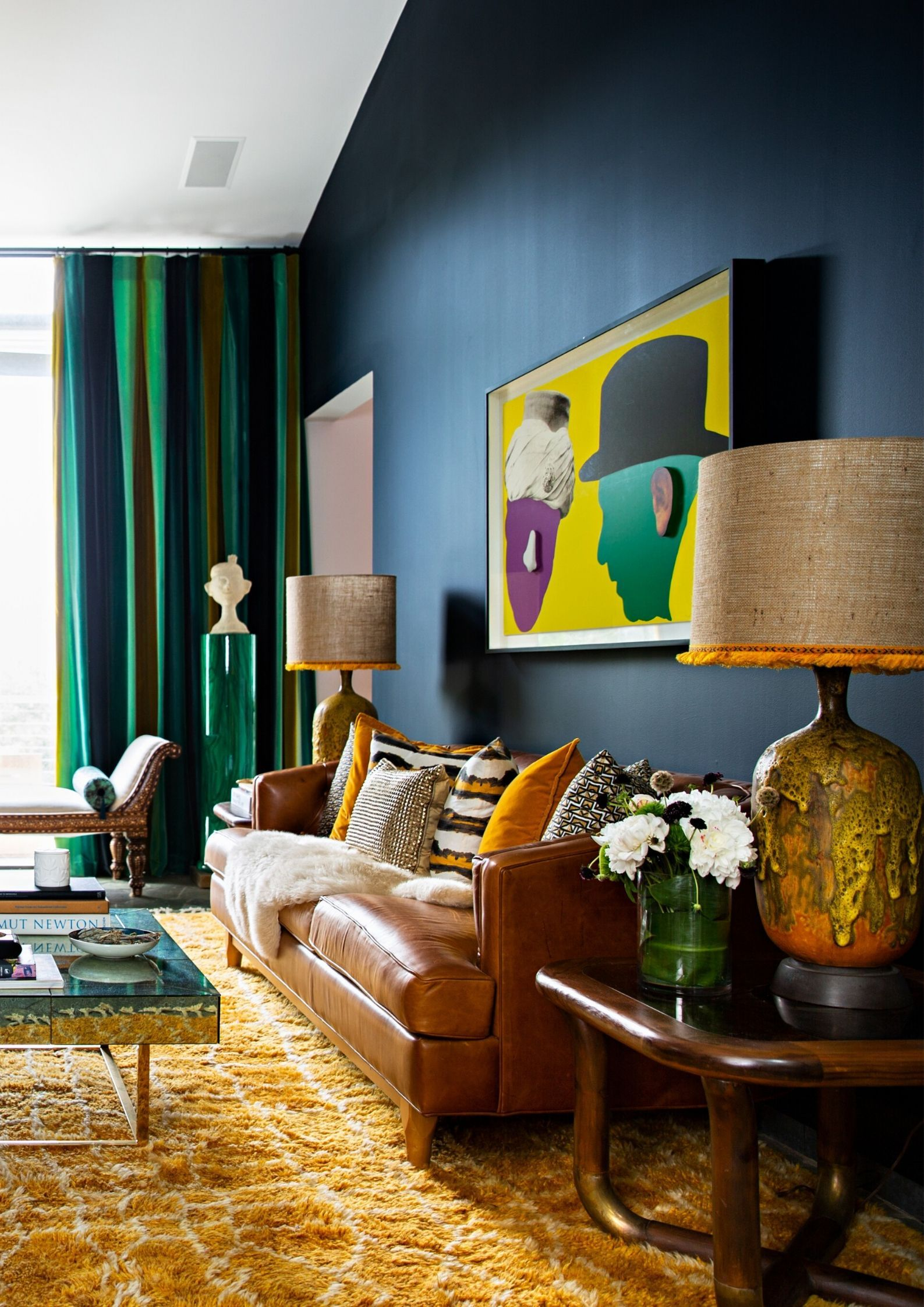 Vibrant Colors And A Harmonious Mix Of Furniture For Your Eclectic