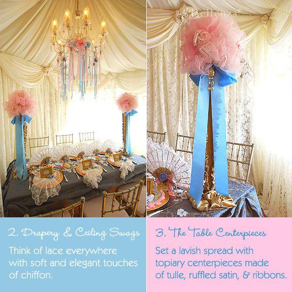 Elegant D 233 Cor For A Marie Antoinette Themed Bridal Shower