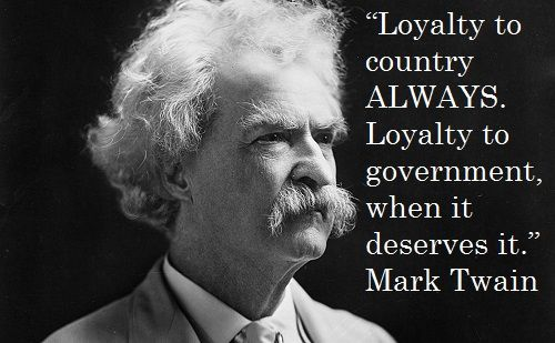 Opposing Views Mark Twain Quotes Mark Twain Famous People