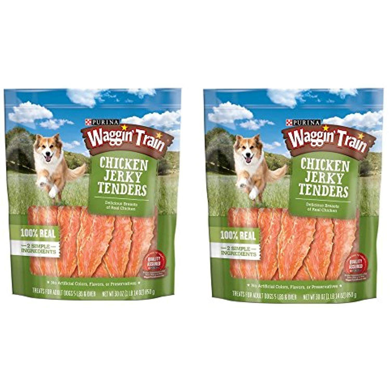 Purina Waggin Train Chicken Jerky Tenders Dog Treats 30 Oz Pouch