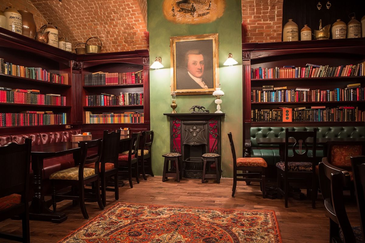 Tap Barrel Irish Pub Library Designed By Love Irish