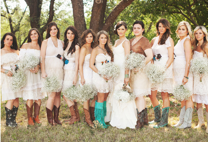 Perini Ranch Texas Wedding Country Style Rustic Chic And