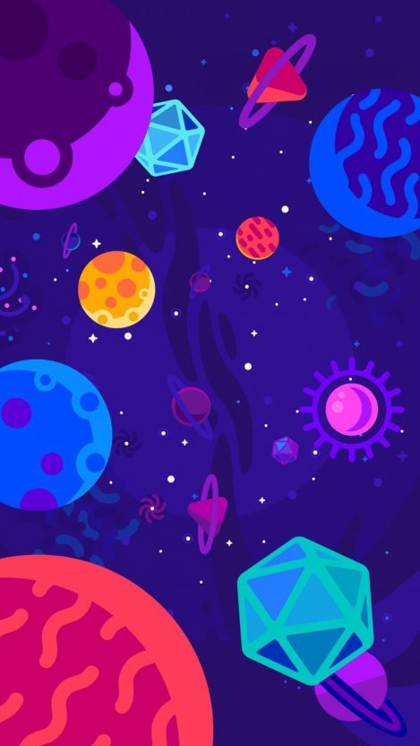 Animated Space Iphone Wallpaper Free Want Free Download Em 2020