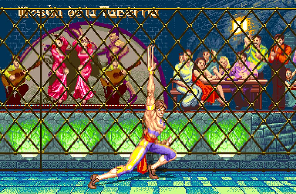 Street Fighter Ii Vega S Stage Poster Street Fighter Super