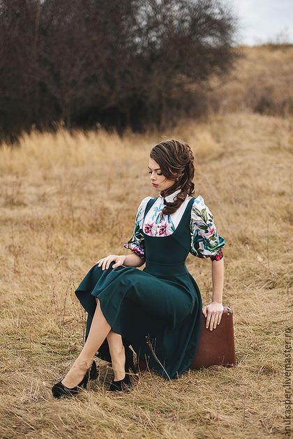 Купить или заказать Платье ' Татьянин сон' в интернет-магазине на Ярмарке Мастеров. Платье выполнено из двух видов ткани!