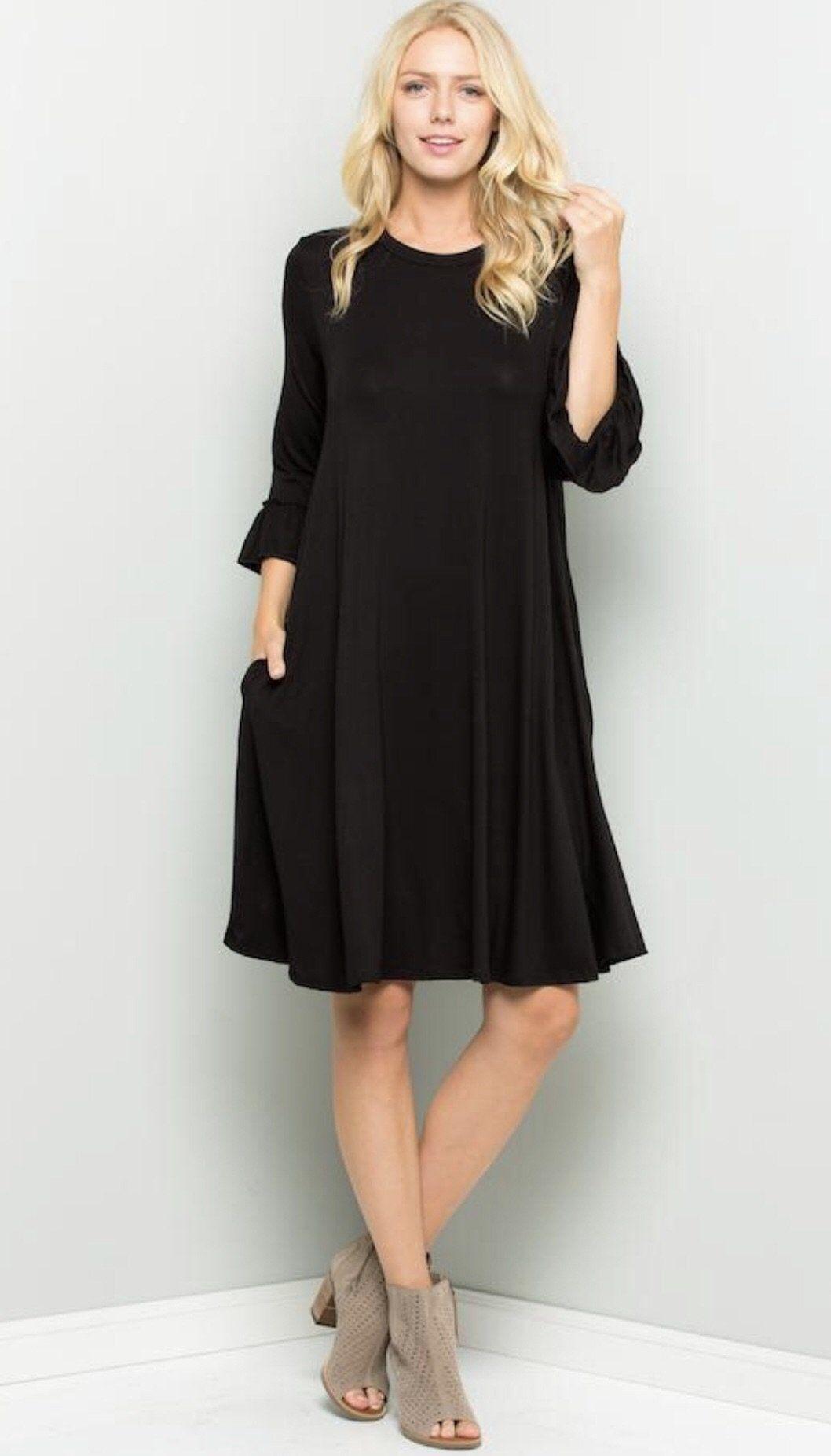 Casual little black dress black dress perfect little