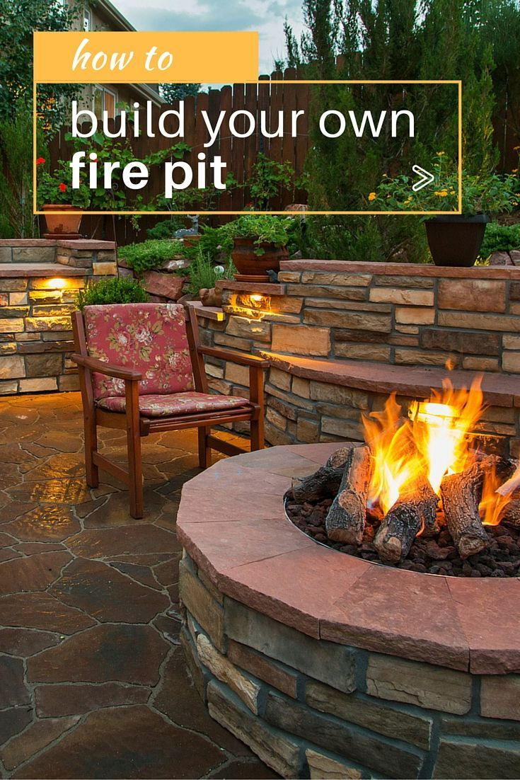 How to Build a Fire Pit—the Hottest New Addition to Your ...