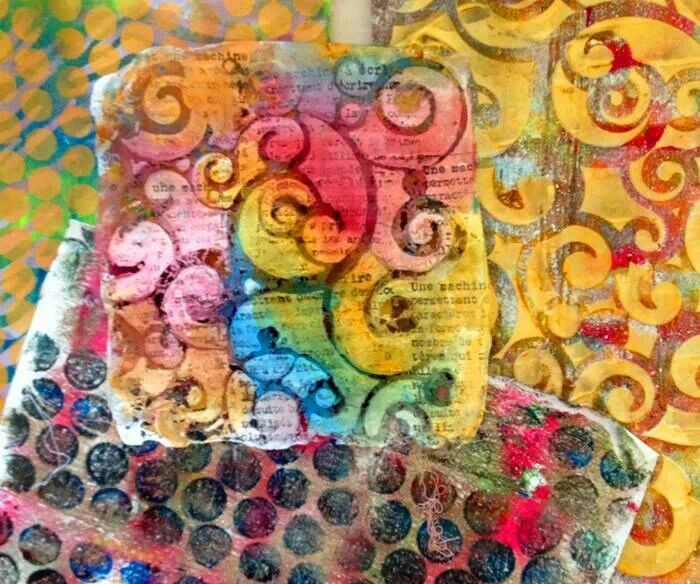 Mixed media | Tree Art Projects for adults and children ...