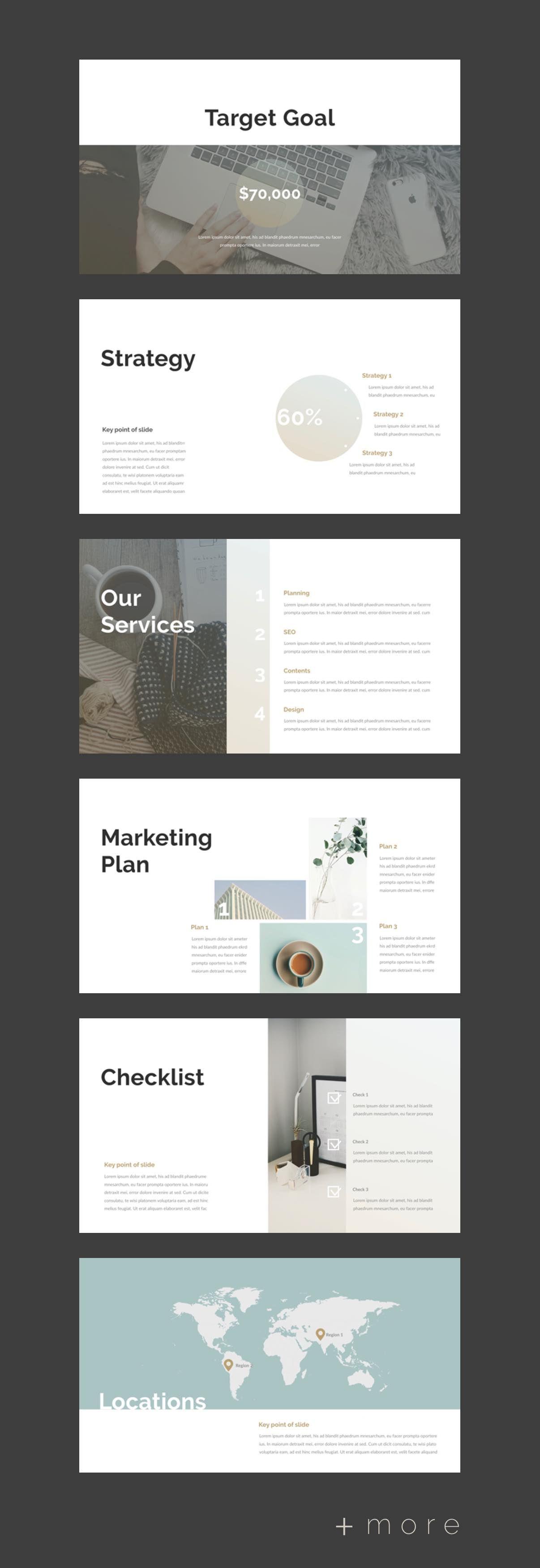 Planner PowerPoint Template 프레젠테이션 레이아웃, 프리젠테이션 양식, 디자인 웹사이트