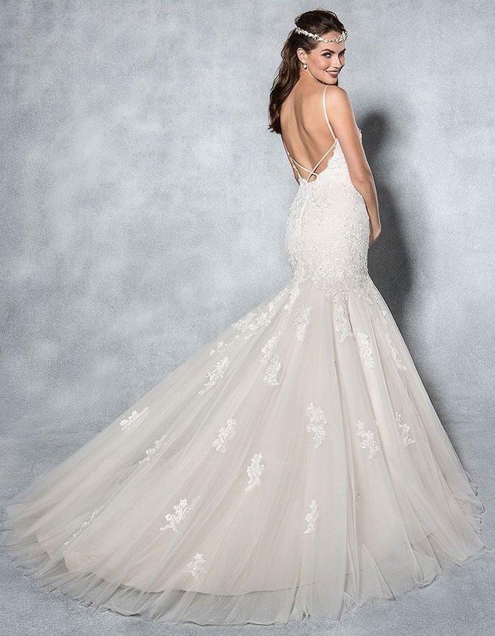 Mischa | Dream Dress | Pinterest | Wedding dress, Fishtail wedding ...