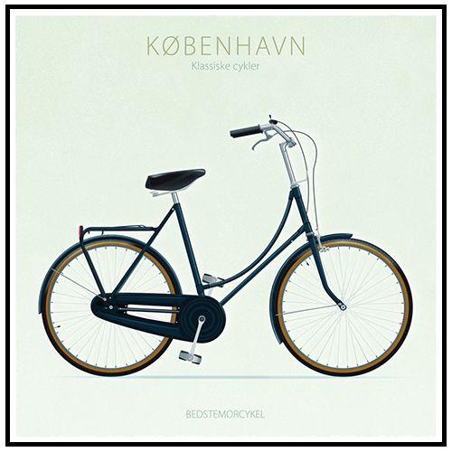 Jal Cykel Bedstemorcykel Kunsttryk Cykler Kunstnere